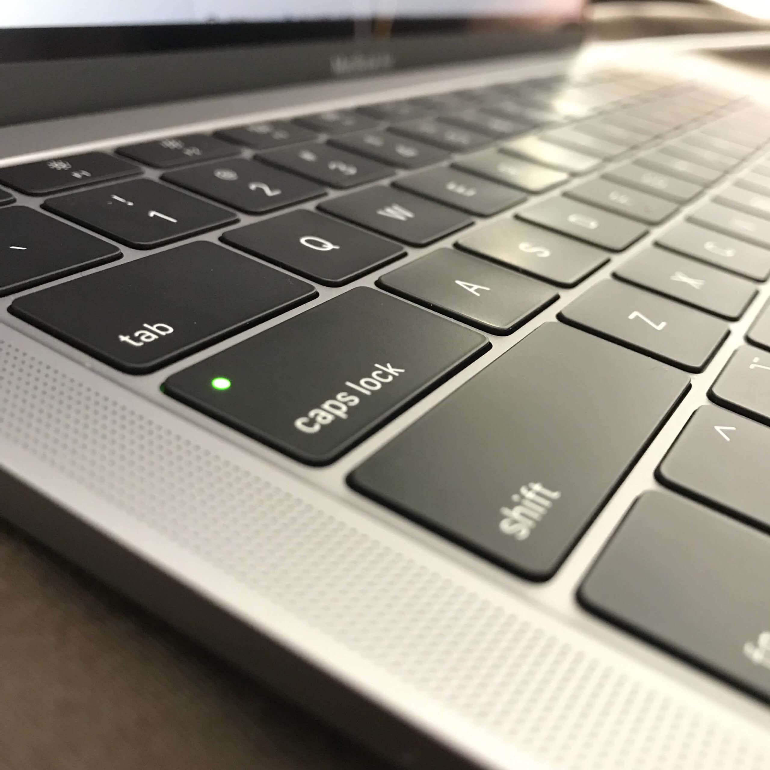 Mac Book USキーボード