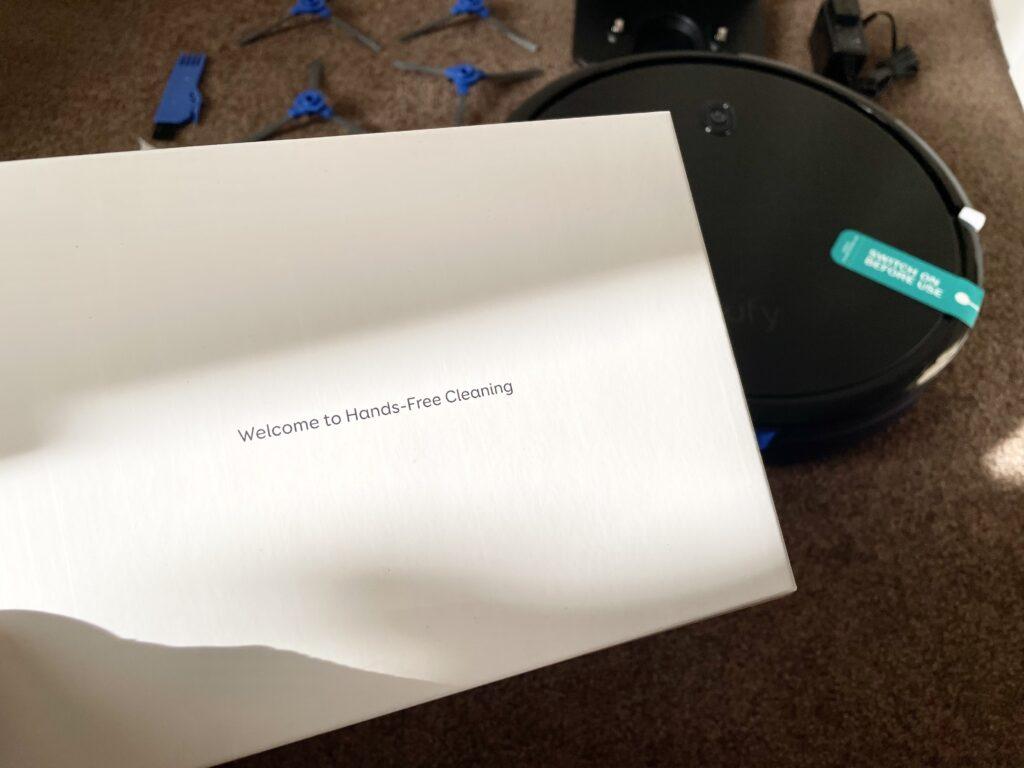 Anker Eufy RoboVac 11S メッセージ